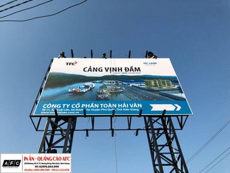 Thi công Pano quảng cáo tại Phú Quốc