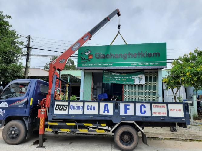 Thi công bảng hiệu Giao hàng tiết kiệm Phú Quốc