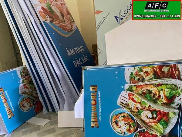 Treo Banner quảng cáo Tập Sun World Phú Quốc