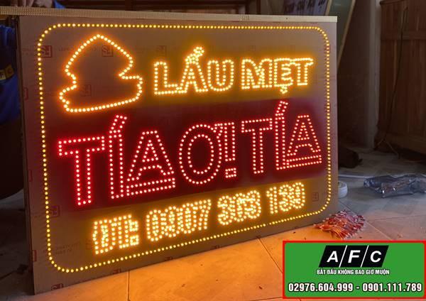 Thiết kế thi công bảng hiệu hộp đèn quảng cáo tại Phú Quốc
