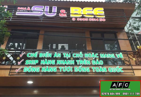 Thi công biển quảng cáo chữ nổi đẹp tại Phú Quốc