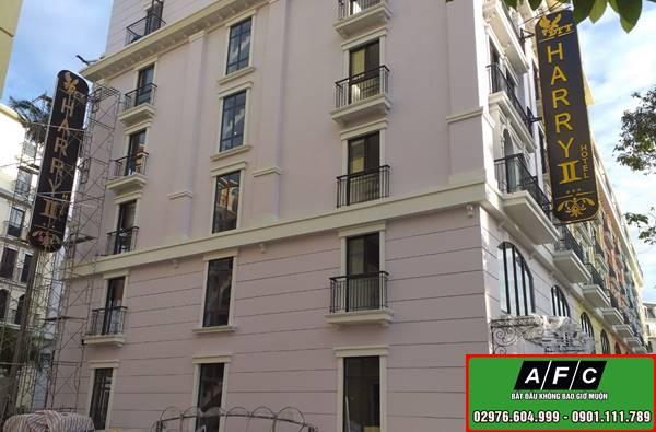 Thi công Bảng hiệu Khách sạn HARRY Phú Quốc