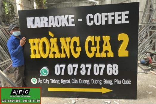 Thi Cong Bang Hieu Caraoke Coffee Phu Quoc